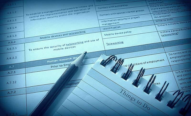 The ISO 27001 Audit Checklist – Some Basics