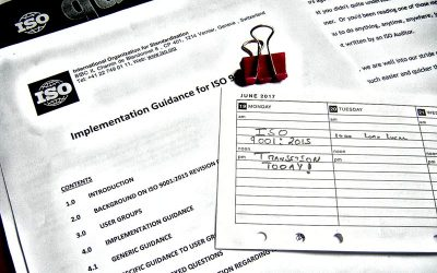 ISO 9001 2015 Transition in A Day? (Seriously?)