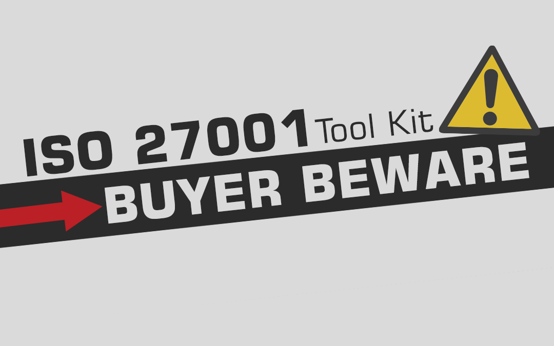ISO Consultants 27001 Tool Kit Warning