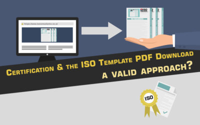 Certification and The ISO Template PDF Download. A Valid Approach?